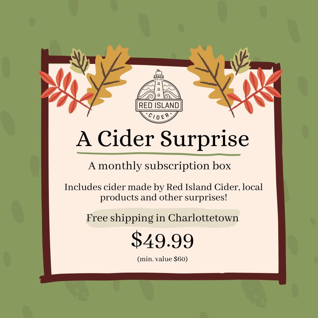 Cider Surprise Subscription Box